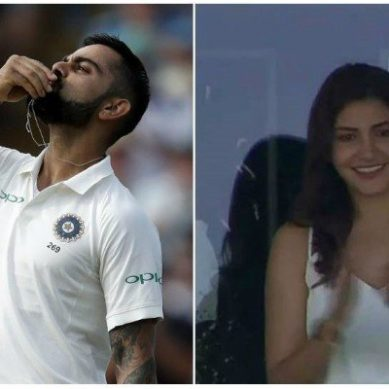Match Insights: Virat and Anushka set another couple goal during the ongoing test century in London
