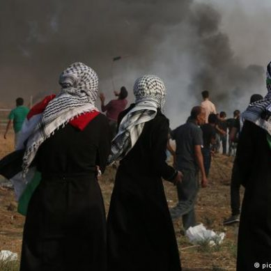 A Palestinian killed and eight wounded in Israeli attacks in Gaza