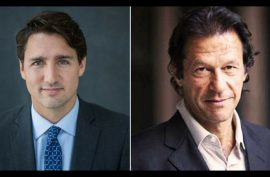 Canadian PM Trudeau discusses human rights, bilateral ties with PM Imran