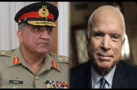 Army chief condoles 'friend of Pakistan' John McCain's death