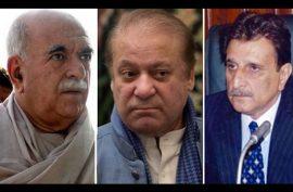 Azad Kashmir PM, Achakzai barred from meeting Nawaz at Adiala Jail