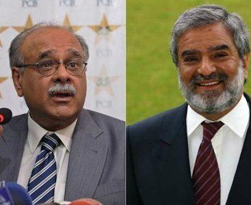 PCB Chairman Najam Sethi resigns as Ehsan Mani replaces him