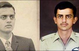 Commemorating Pakistani national hero's 47th death anniversary; RIP Rashid Minhas Shaheed
