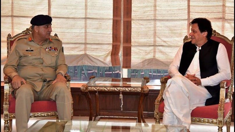 PM Imran visits GHQ, gets briefed on defence, security: DG ISPR