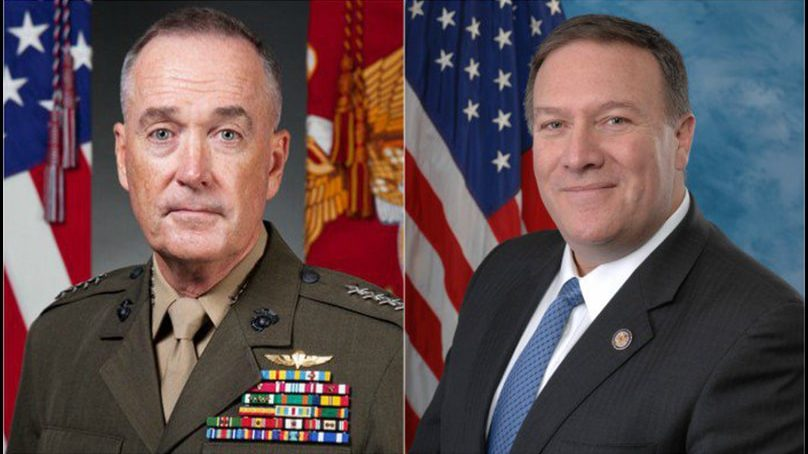 US military chief to accompany Pompeo to Pakistan next week