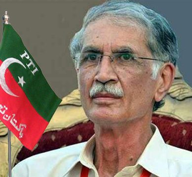 PTI leader Pervez Khattak apologizes for his foul language