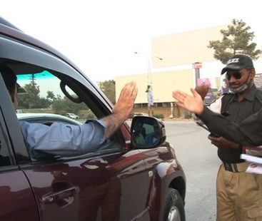Quetta Police Department celebrates politeness week