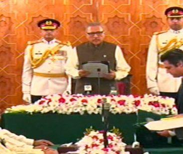 Six new cabinet members sworn in