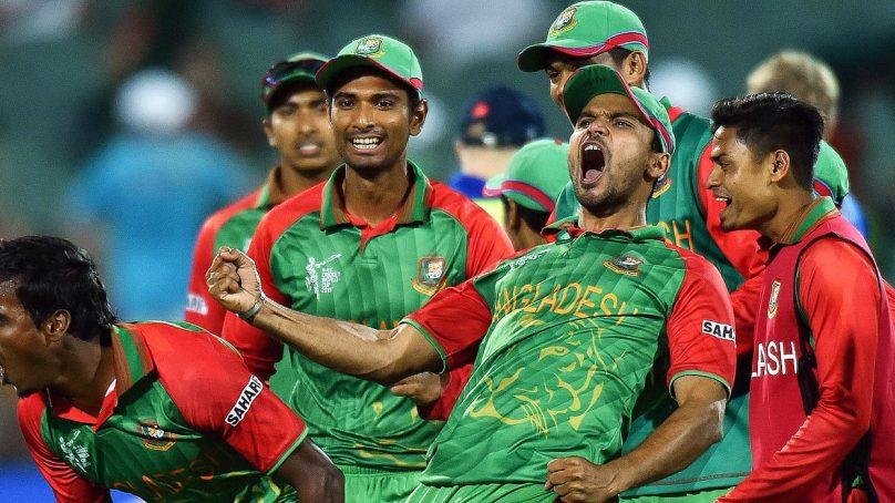 Is Pakistan set to play with Bangladesh tomorrow?