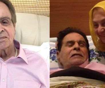 Versatile actor Dilip Kumar hospitalized for chest infection, updates awaited