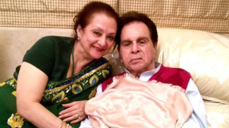 """Saira Banu: """"Dilip Kumar recuperating, diagnosed with mild pneumonia"""""""