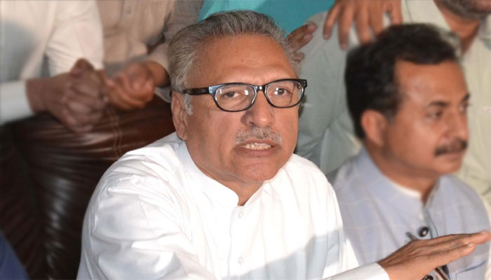 President Alvi infuriated by FIRs registered against protocol breach