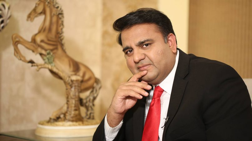 Information minister Fawad Chaudhry takes a bold stance for minorities in Pakistan