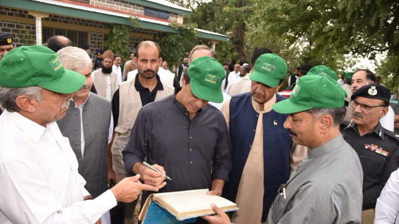 PM Imran Khan initiates 'Plant for Pakistan' with the aim to plant nearly 10bn trees during his tenure