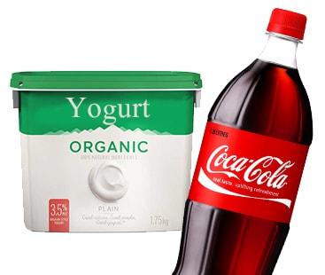 Health Halo: Organic yogurts contain more sugar content than Coca-Cola alone
