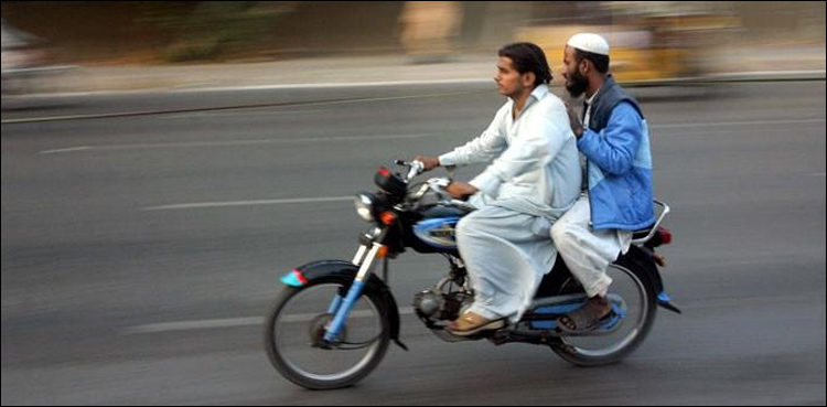 Pillion-riding banned for 3 days to ensure infallible security to Muharram processions, cellular services also remain suspended in most areas