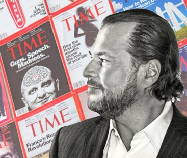 Time Magazine being sold to tech entrepreneur-billionaire Marc. Benioff for $190mn