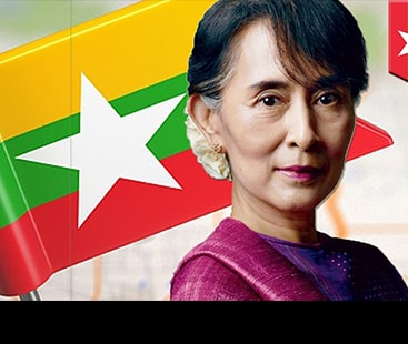 View on Aung San Suu Kyi: a deadening silence