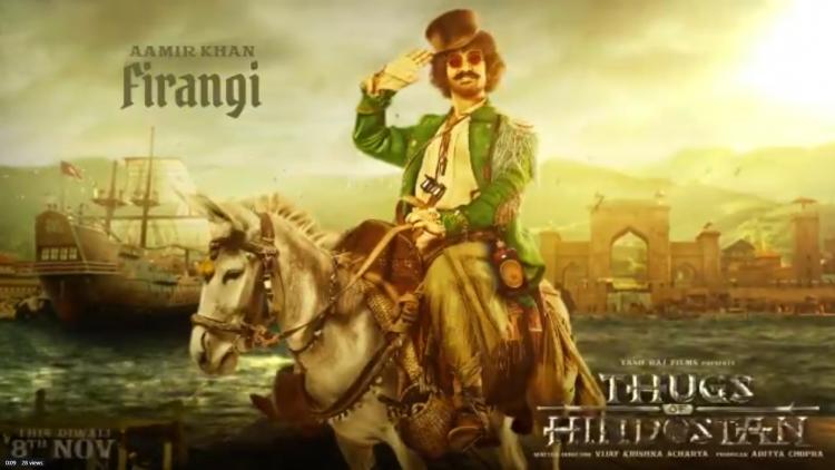 Thugs of Hindostan: Amir Khan in a brand new Avatar