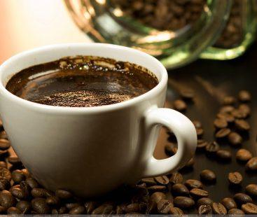 Coffee and caffeine: blues and hues