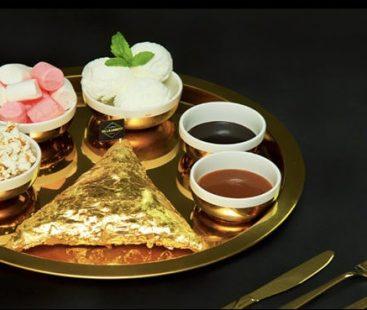 Dubai introduces 24-K Gold Yalla samosa