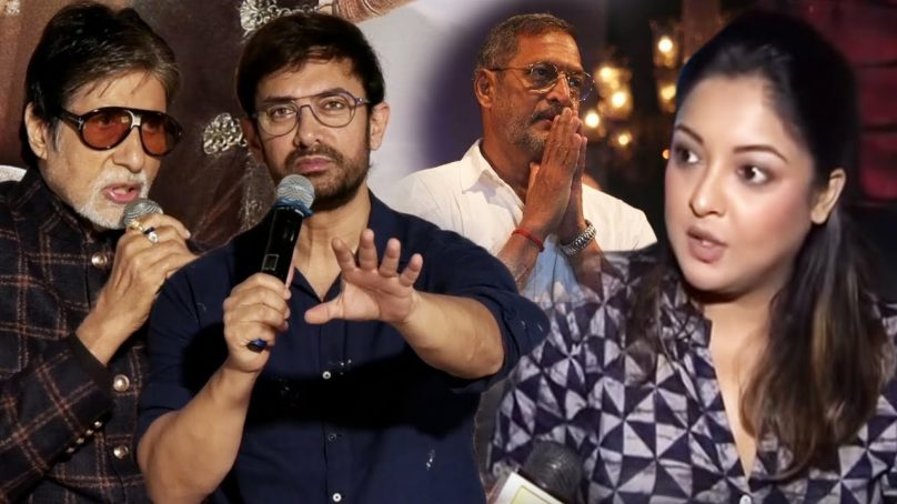 MeToo: Tanushree Dutta alleges Nana Patekar for sexual harassment, Patekar responds while Bachan fails to comment while Aamir answers diplomatically