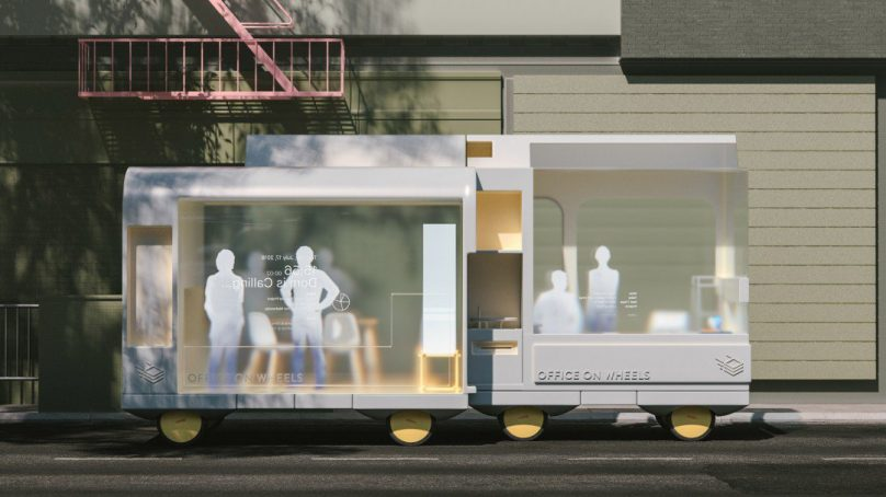 IKEA's Space10 lab prototypes the future of autonomous vehicles with zero emission home deliveries by 2020
