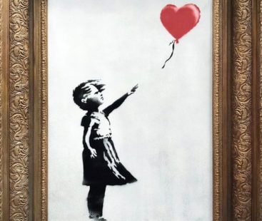 A work by Banksy self-destructs after being sold for more than a million dollars at the Sotheby's auction house