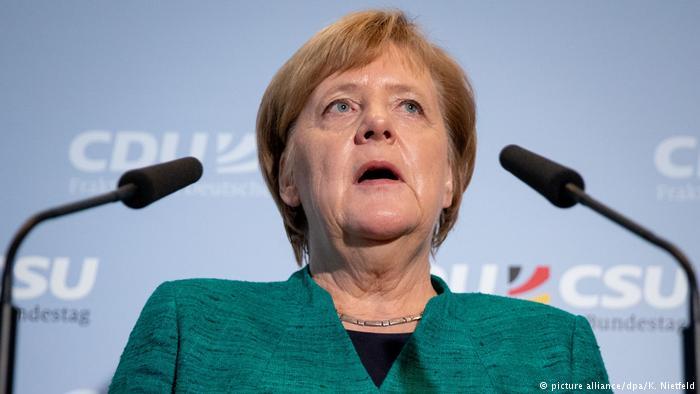 Merkel warns of the danger of ending the UN