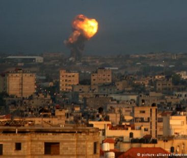 One dead and three wounded in Gaza by Israeli bombing in response to rocket