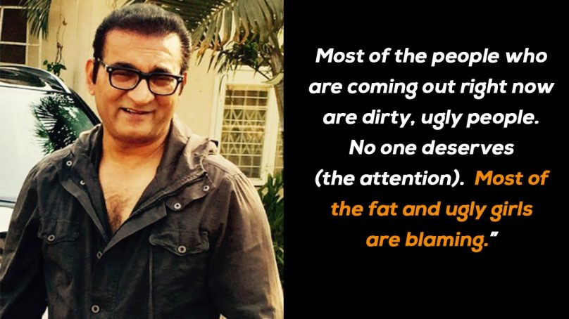 Abhijeet Bhattacharya exposed as a sexual predator, lashes out at Pakistani critics as news goes viral