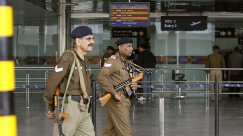 """""""Sufficient smile system"""" to be strictly adhered to by Indian police officials at the airport"""