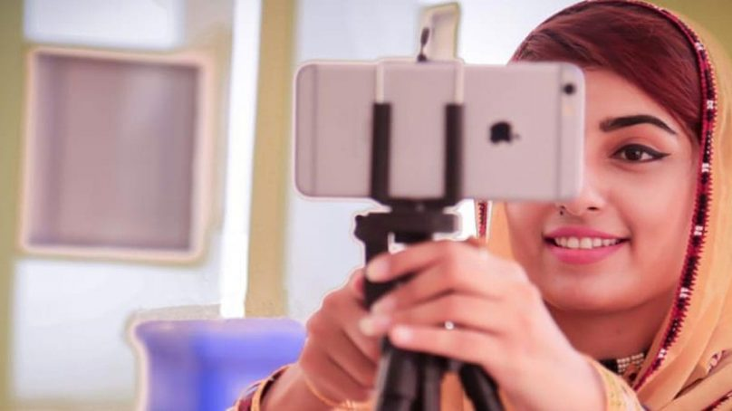 Anita Jalil chases her dream, combats all odds to pursue vlogging