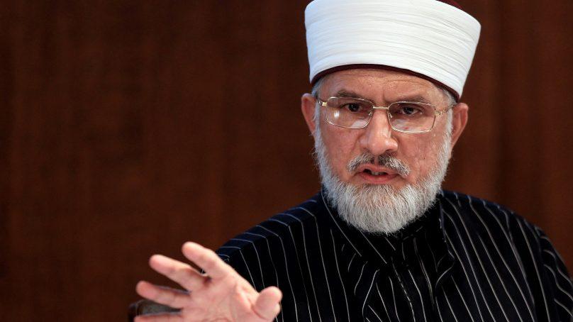 Tahirul Qadri seeks MQM's assistance to block Karachi during the 2014 sit-in