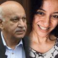 India's Union minister M.J. Akbar filed a defamation suit against journalist Priya Ramani