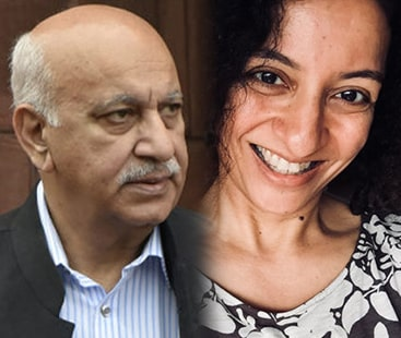 India's Union minister M.J. Akbar filed a defamation suit against journalist Priya Ramani