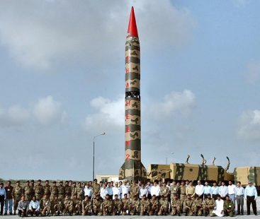 Pakistan conducts training and testing launch of Ghauri Missile System