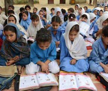 KP official ban on male guests, coverage at girls' schools meets utmost criticism