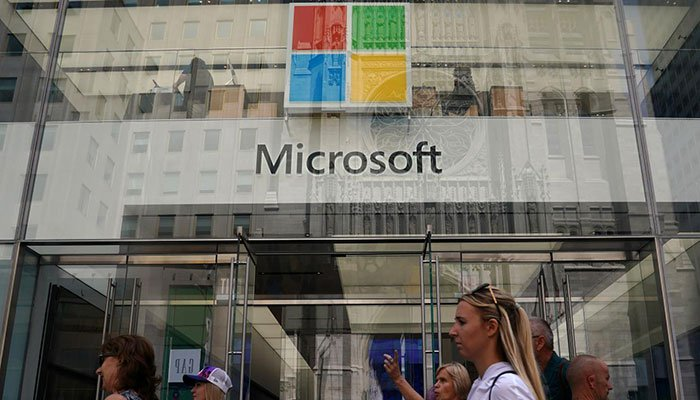 Microsoft overtakes Amazon, identified as the second most valuable US company
