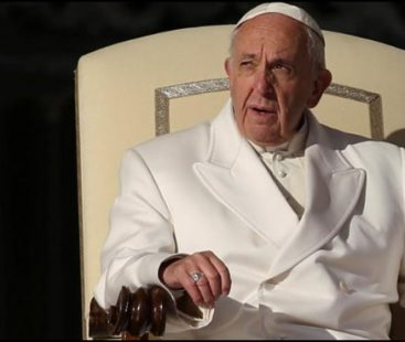 """Pope: Having an abortion is no different from hiring a """"contract killer"""""""