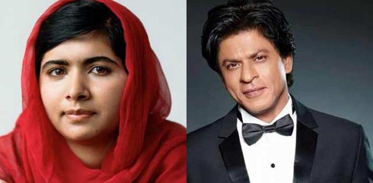 "SRK reciprocates his desire to meet Malala: ""Meeting Malala will be a privilege"""