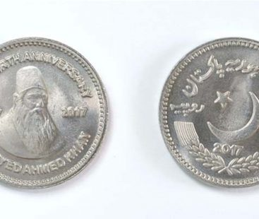 SBP to issue Rs.50 coin in the memory of Sir Syed Ahmed Khan, 17th October marks his 201st birth anniversary