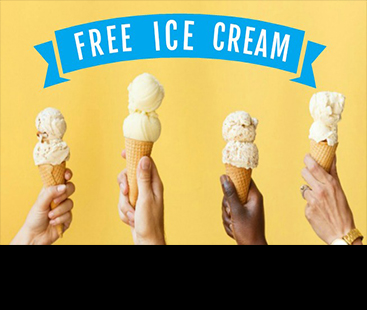 The city that gives you free ice cream if you travel by bicycle or public transport