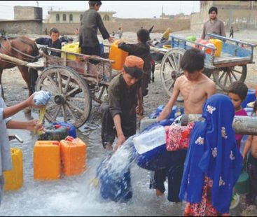 Quetta going dry, faces intense shortage of water
