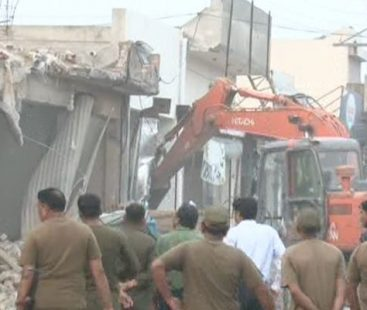 Anti-encroachment drive claims life of a minor as roof-top collapses