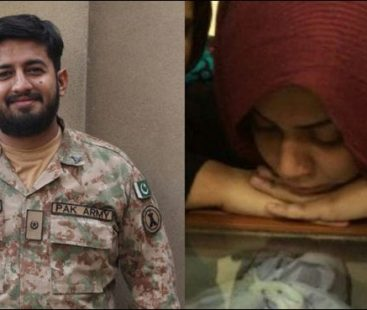 Major Ishaq's legacy continues, wife of the martyred soldier awarded with 'best shooter' title