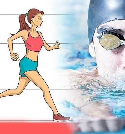 Fixing fitness dilemmas: Burning calories by walking or swimming?