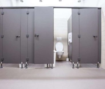 The Only Stall You Should Use in a Public Bathroom