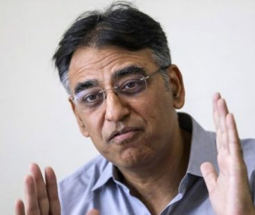 """Asad Umar: """"Not only on a financial package, talks are also being held with China on long-term partnership and investment"""""""