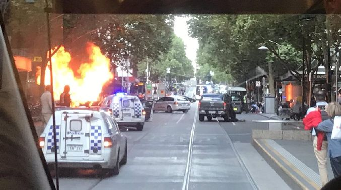 Stabbing series reported at Melbourne